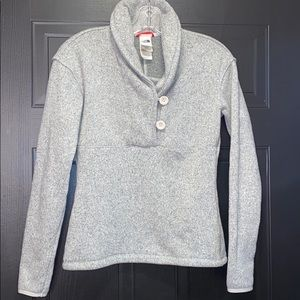 The North Face thermal sweater. Xs.